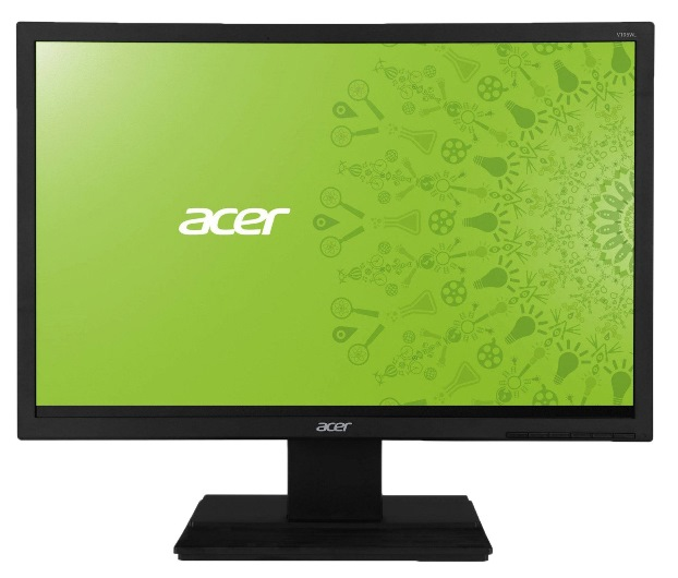 "картинка Монитор 18.5"" Acer V196HQLAb черный (16:9,1366х768,TN,200cd/m2,H90/V65,5ms,VGA) от магазина Альфанит в Кунгуре"